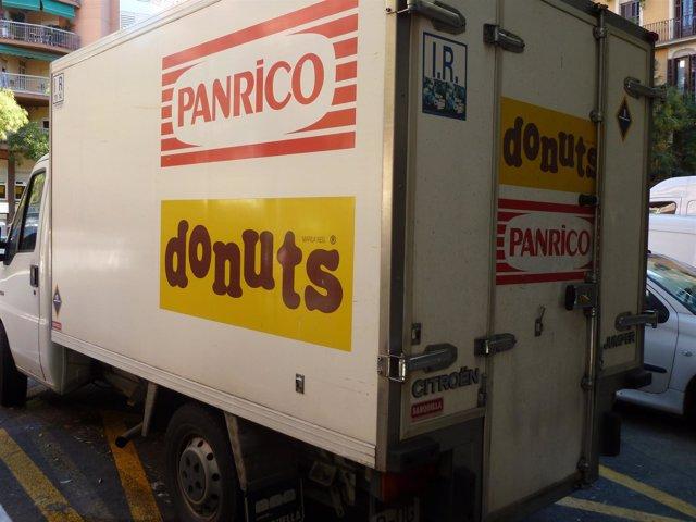 Camión de Panrico, Donuts