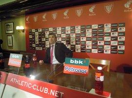 """Fútbol.- Josu Urrutia afirma que el Athletic """"cumple"""" con todas sus obligaciones jurídicas"""