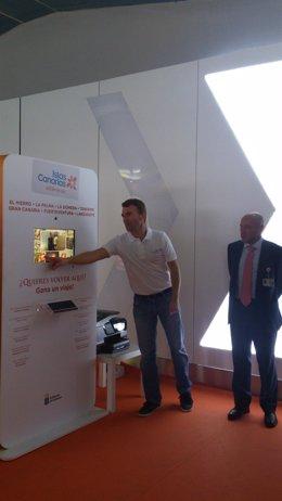 Promoción turística del Gobierno de Canarias en aeropuertos de las islas