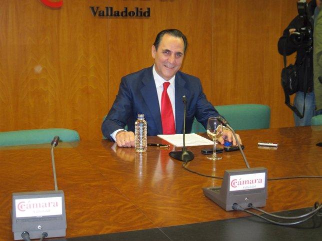 José Rolando Álvarez comparece tras hacer efectiva su dimisión.