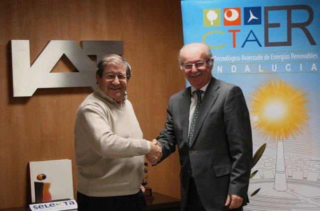 Firma acuerdo Ctaer e IAT.