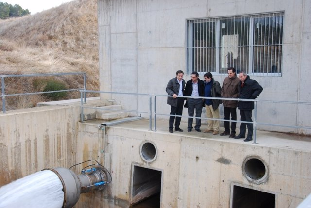 Llenado del embalse de Lechago (Teruel)