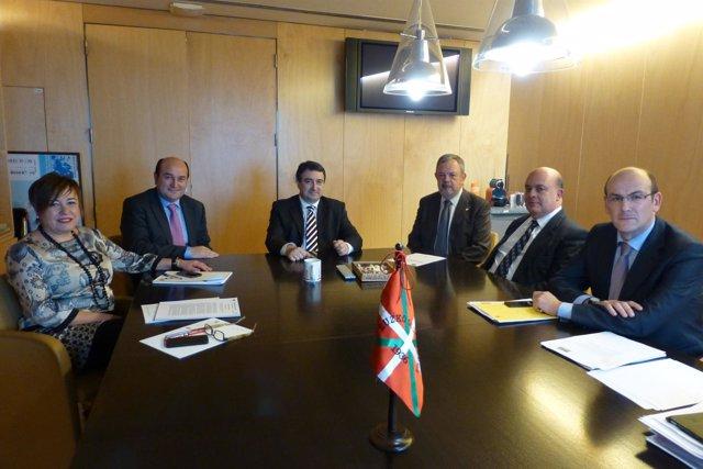 Reunión del grupo Vasco en el Congreso