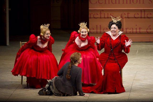 La ópera 'Cendrillon'