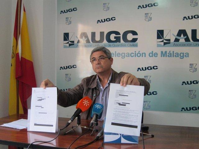 Ignacio Carrasco, secretario general de la AUGC