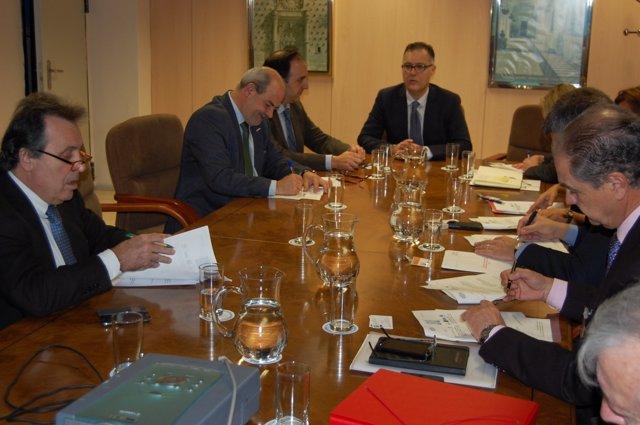 Comisión de seguimiento del convenio de la Asociación de Estaciones Náuticas