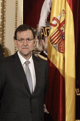 Rajoy en el homenaje a la Constitución