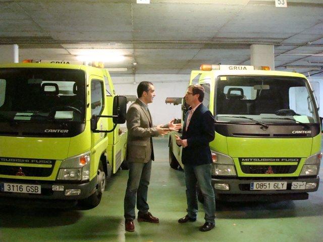 Presentación de la municipalización del servicio de grúa de Jaén