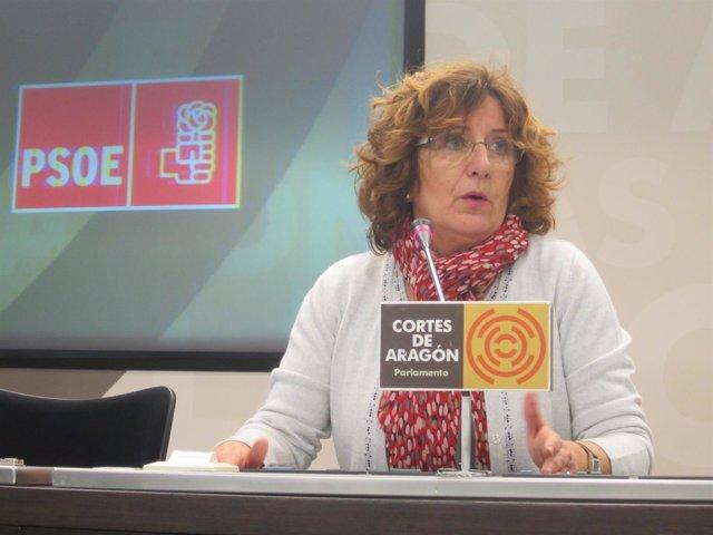 La diputada del PSOE María Victoria Broto.