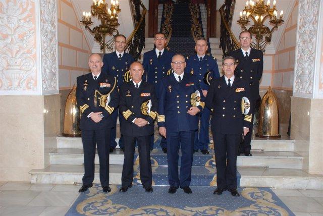 Nota De Prensa Visita Del Inspector General De La Marina De Marruecos