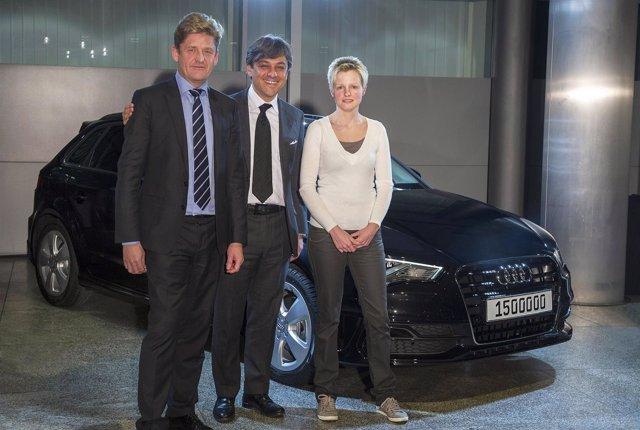 Audi vende 1,5 millones de coches en un año completo