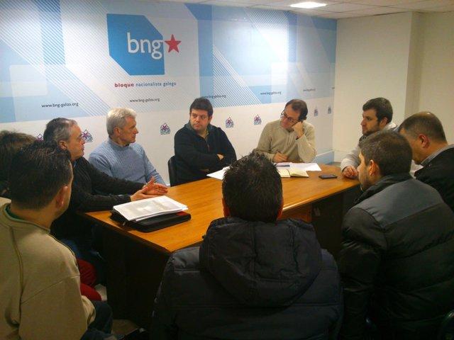 Representantes del BNG se reúnen con el comité de empresa de Emesa