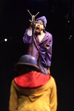 Circo del Sol y su número Quidam en Bogotá