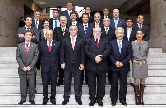 Reunión del COE y la UCAM con comités olímpicos iberoamericanos