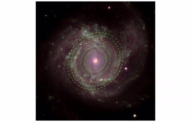 Galaxia Messier 61