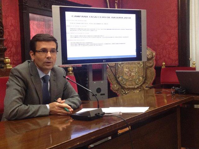 Francisco Cuenca, portavoz del PSOE en el Ayuntamiento de Granada