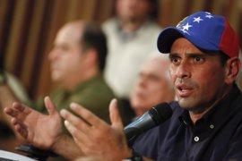 Venezuela.- Capriles anuncia que no irá a la reunión de Maduro con los alcaldes electos