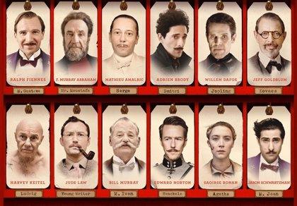 Wes Anderson te presenta el casting de 'The Grand Budapest Hotel'