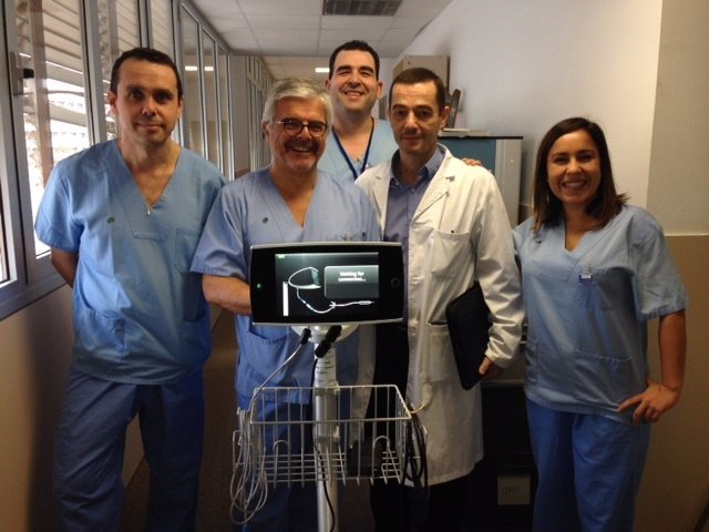 Médicos del Servicio de Andrología del Parc Taulí de Sabadell