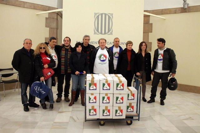Los Promotores De La ILP Para Una Renta Garantizada De Ciudadanía