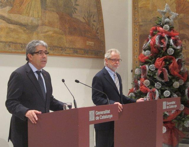 Francesc Homs y Carles Viver Pi-Sunyer