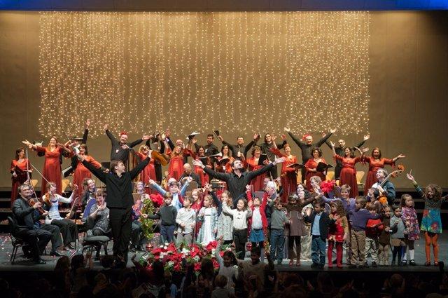 Sevilla - Cultura - El Maestranza acoge este domingo el tradicional  Concierto de Navidad dedicado al villancico
