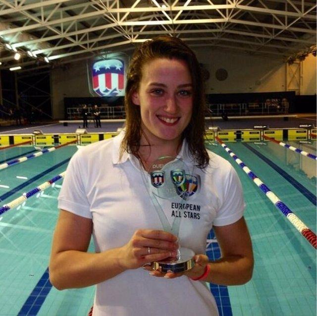 Mireia Belmonte MVP Duel in the pool