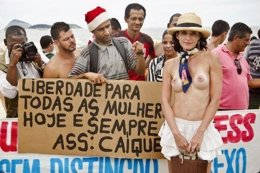 Toplessazo en Brasil