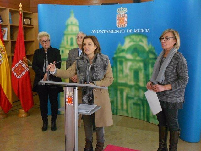 CEOM y la asociación Paréntesis firman un convenio con Ayuntamiento de Murcia