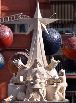 Monumento a los Reyes Magos en Ibi (Alicante)
