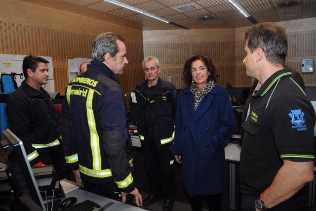 La Alcaldesa, Ana Botella, En El CISEM