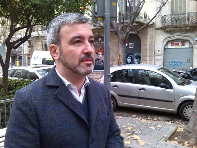 El portavoz del PSC Jaume Collboni
