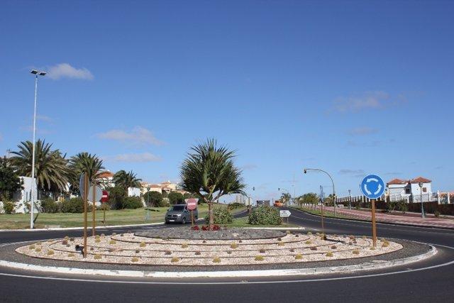 Glorieta de la avenida El Castillo