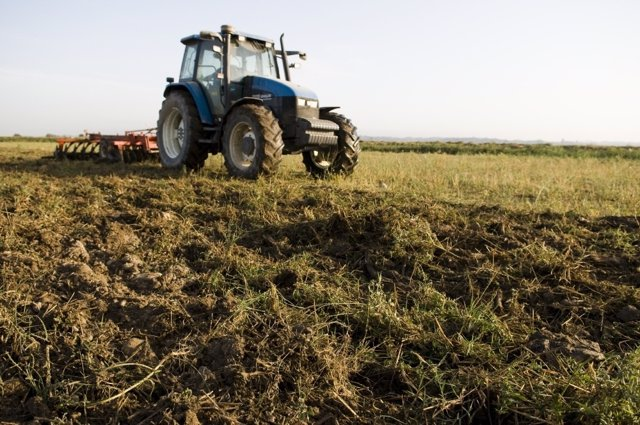Campo, Tractor, Agricultura En Aragón