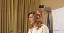 """Susana Díaz afirma que le """"duele"""" que Andalucía sea noticia a nivel nacional por cuestiones de """"corrupción"""""""