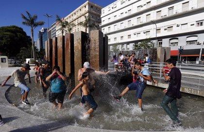 Declaran la alerta roja en Buenos Aires por altas temperaturas