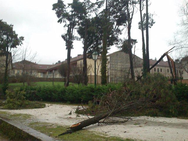 El temporal afecta a Galicia