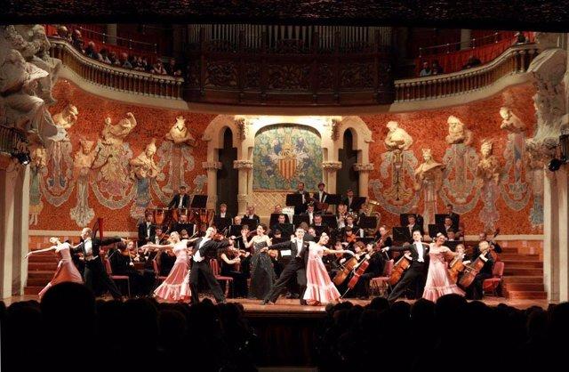 Concierto de Año Nuevo de la Strauss Festival Orchestra en el Palau de la Música