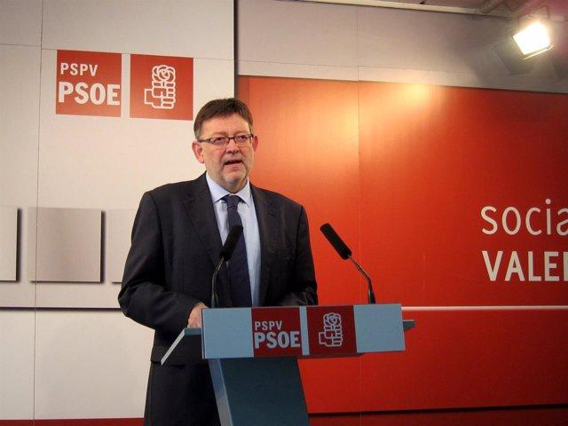 Secretario general del PSPV-PSOE, Ximo Puig.