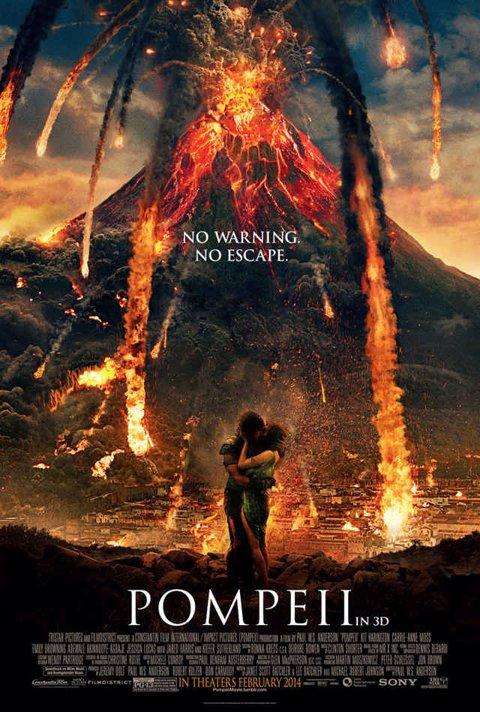 Pompeii póster