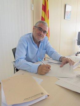 El director de la Agencia de Salud Pública de Catalunya, Antoni Mateu