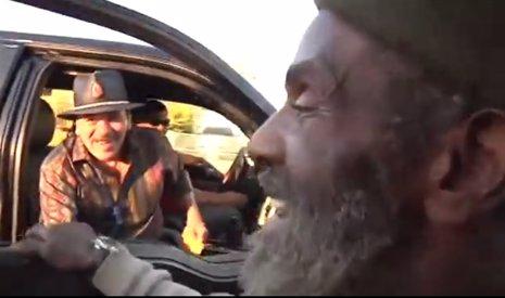 Carlos Santana se reencuentra con un antiguo miembro de su banda