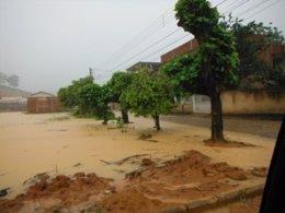 Lluvias torrenciales en el estado brasileño de Espíritu Santo