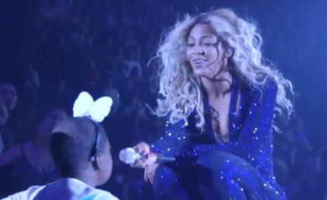 Beyoncé baila con una niña enferma terminal