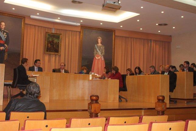 Pleno del Ayuntamiento de Vélez-Málaga