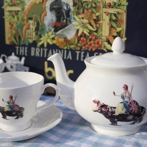 Juego de tazas de té de Blur