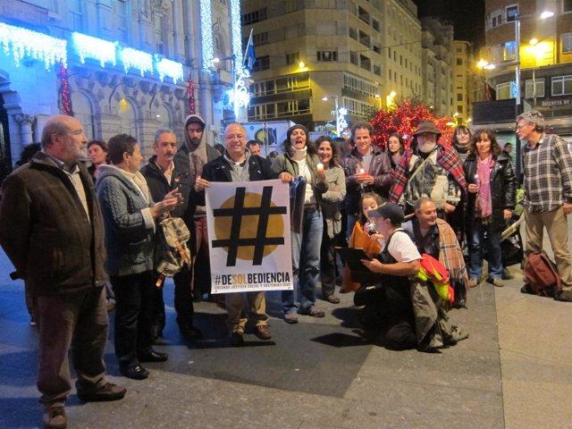 Concentración en Santander contra la pobreza energética y la subida de la luz