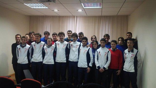 La Selección Española de Orientación prepara en Cehegín la Copa del Mundo