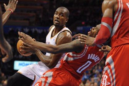Baloncesto/NBA.- Oklahoma arrolla a Houston y los Lakers pierden