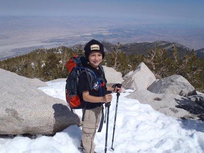 """Argentina.- """"Soy un apasionado de subir montañas"""", dice el niño de 9 años que subió el Aconcagua"""